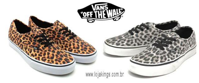 VANS AUTHENTIC ANIMAL PRINT X LEOPARD